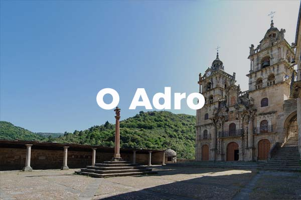 O Adro do Santuario de As Ermitas
