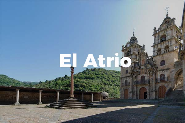 Atrio del Santuario de As Ermitas