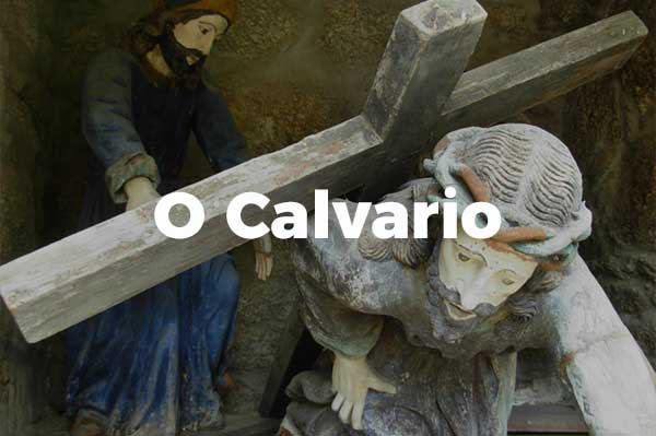Imaxes do Calvario ou Via Crucis de As Ermitas